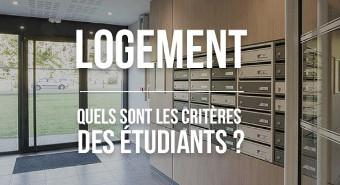 critères logement étudiant
